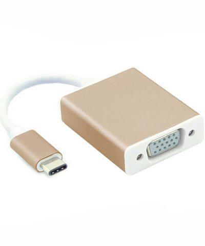 Cáp USB Type C to HDMI+VGA