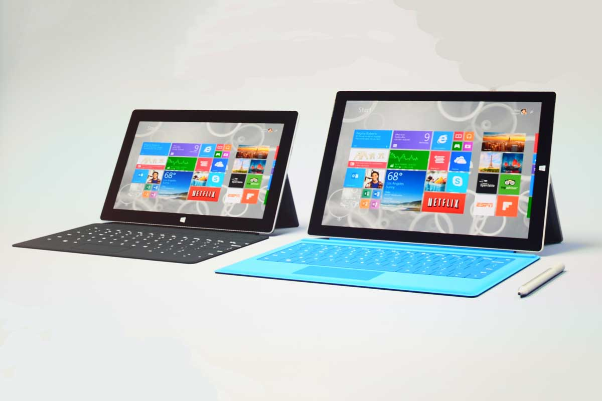 So sánh surface pro 3 với pro 4