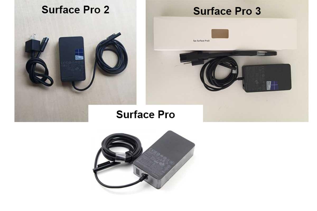 sạc miễn phí cho Surface Pro 2 cũ, Pro 3