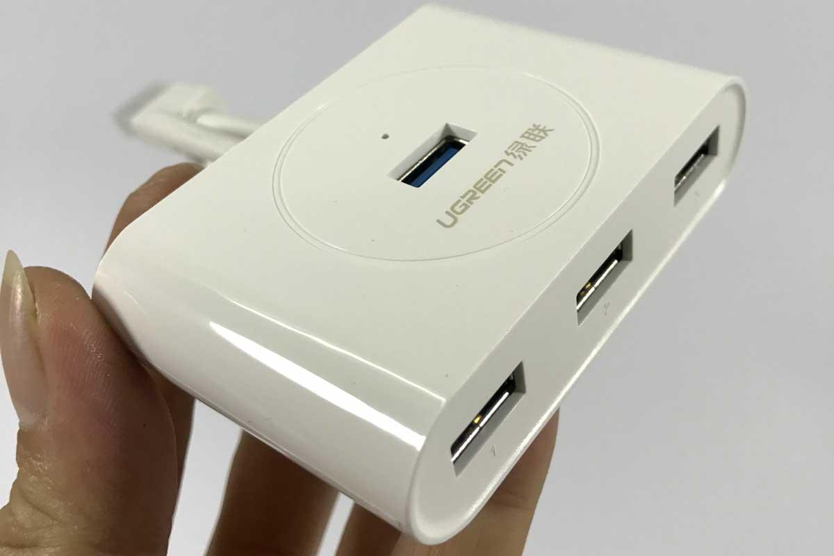 Bộ chia 4 cổng USB 3.0 Ugreen 20282