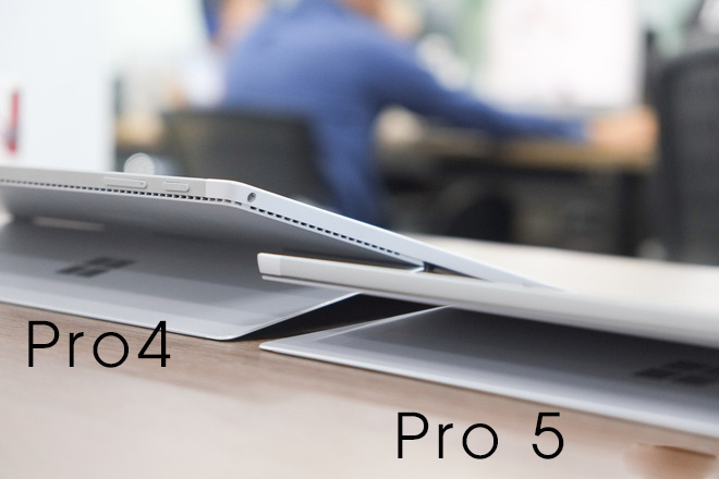 giống và khác nhau surface pro 4 và pro 5 (7)