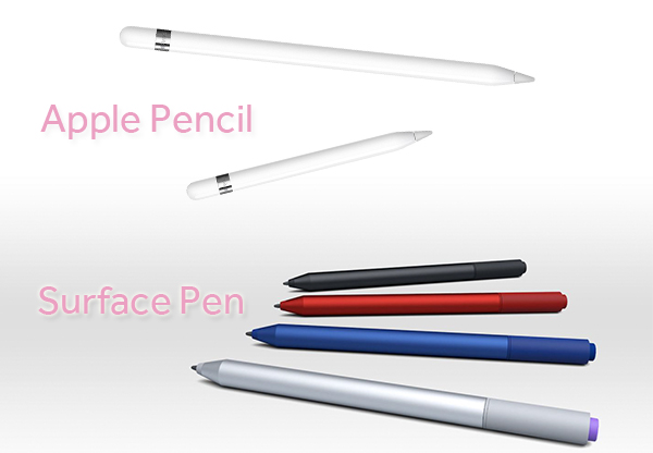 trong-luong-surface-pen-va-apple-pen