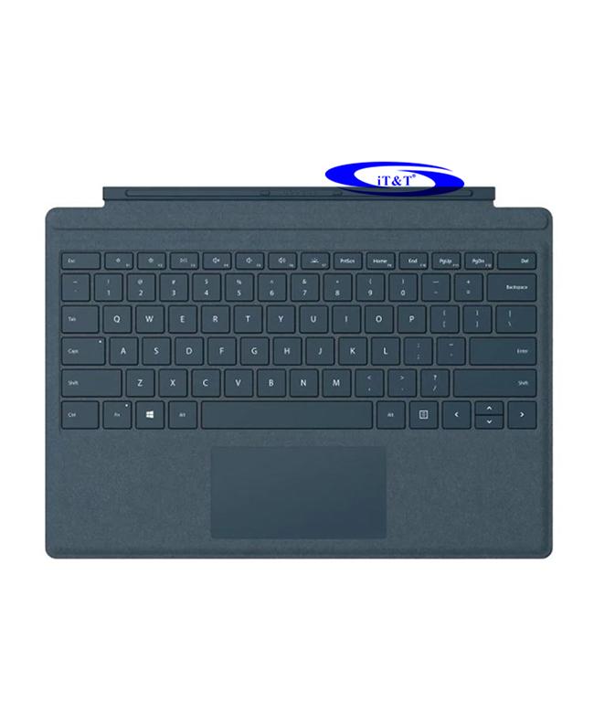 Bàn Phím Surface Pro Alcantara - Xanh