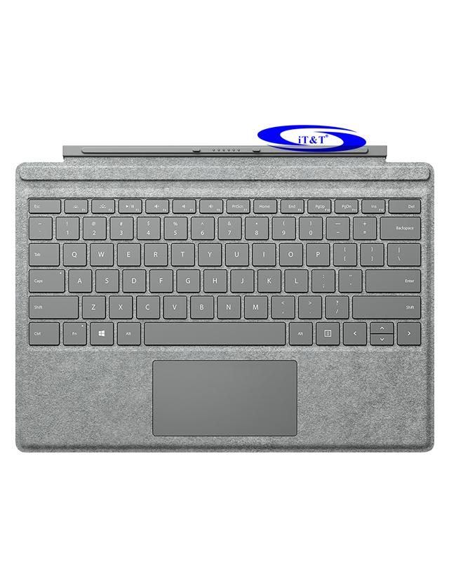 Bàn Phím Surface Pro - Alcantara xám