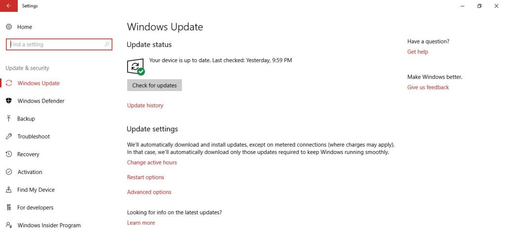 fix lỗi Surface không nhận bàn phím