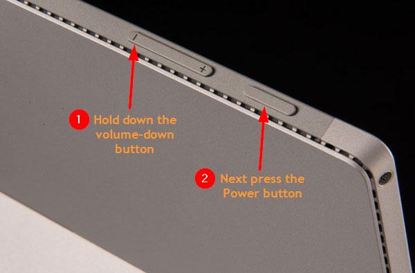 fix lỗi Surface không nhận bàn phím 3